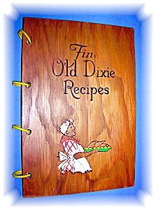 Black Memorabilia Fine Old Dixie Recipes Wood Jacket  (Image1)