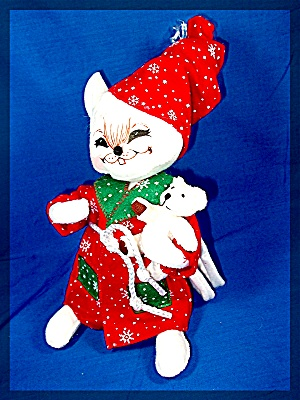 Annalee Christmas Mr. Mouse Ornament  2007 (Image1)