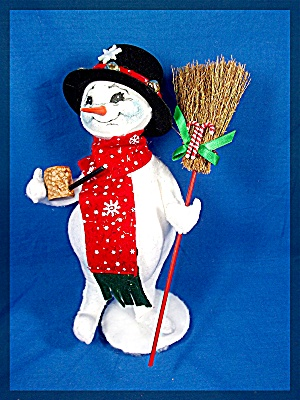 Annalee Snowman with Corn Cob Pipe 2006 (Image1)