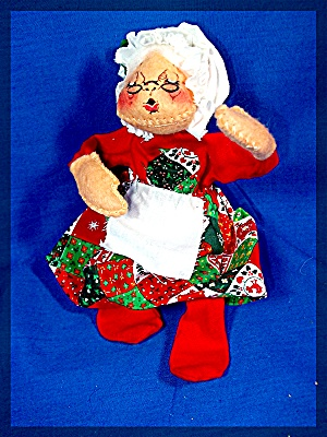 Annalee 1963 Christmas Mrs. Claus doll (Image1)