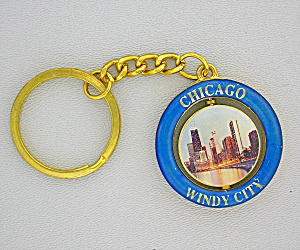 Chicago Windy City Key Chain (Image1)