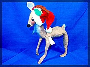 Christmas Annalee Reindeer 1970 (Image1)