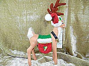 Annalee 8 Inch Classic Reindeer With Tags2009