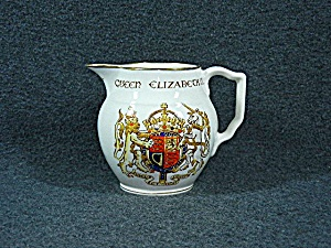 Pottery Gray's White 1953 Queen Elizabeth II Coronation (Image1)
