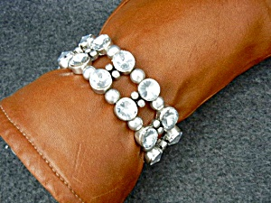Costume Rhinestone Bracelet Bling Stretch