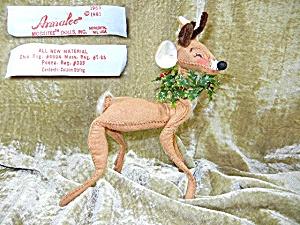 Christmas Annalee reindeer 8 inch1965-81 (Image1)