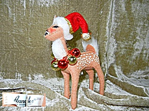 Chrstmas Annalee Reindeer with Christmas balls (Image1)
