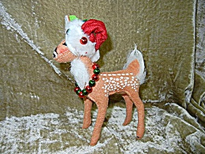Christmas Annalee 6 Inch Fawn Deer 2010