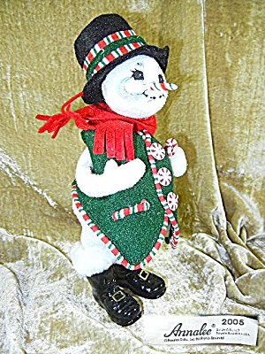 Annalee Peppermint Snow Man  (Image1)