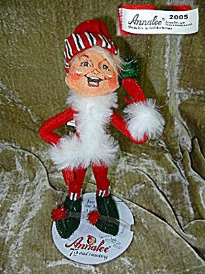 Cristmas Annalee 9 inch ELF 2005 (Image1)