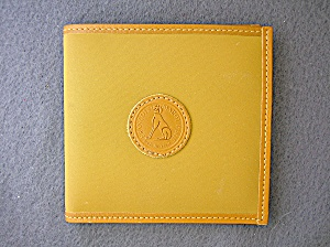 Francois Marot Paris Light Tan Leather Wallet