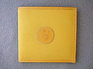 Francois Marot PARIS Light Tan Leather Wallet (Image1)