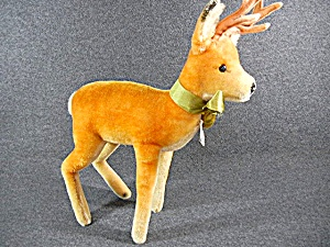 Steiff Vintage Buck Deer, 12 Inches With Tags