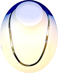 20 Inch Sterling Silver Necklace Italy