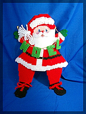 Christmas Santa with NOEL sign Hand Made (Image1)