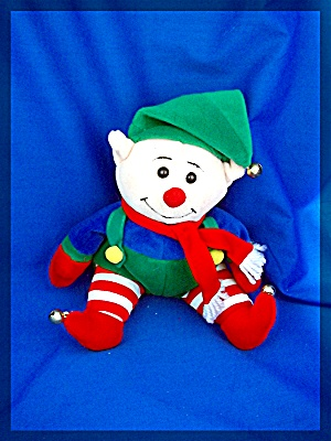 Christmas Jolly Pellet Filled ELF Bells on His Shoes (Image1)