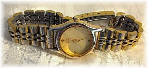 Wristwatch SIEKO Gold Face Ladies Wristwatch (Image1)
