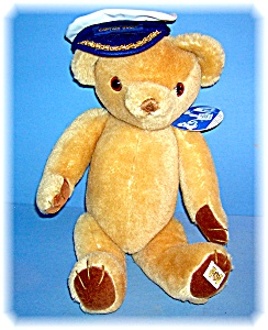 English Mohair Signed Peter Bull Limited Edition Bear. (Image1)