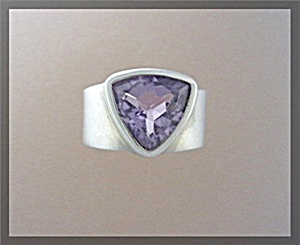 Amethyst Sterling Silver Ring By Experience