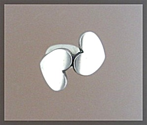JAMES AVERY Double Heart Sterling Silver Ring  (Image1)