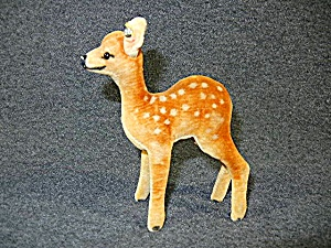 Vintage Steiff Fawn Spotted Deer 4 1/2 Inches