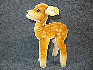 Vintage STEIFF Mohair  Deer, DOE Standing 8 1/2 in  (Image1)