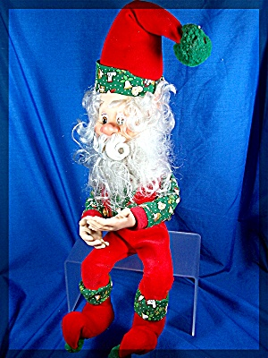 Christmas Sitting  Elf rubber hands and face (Image1)