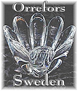 ORREFORS Signed & Numbered Candy Dish (Image1)