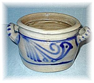 Antique Salt Glaze Crock Germany 40s (Image1)