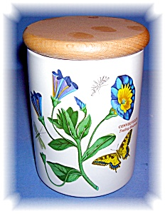 Portmeirion China Trailing Bindweed Canister (Image1)