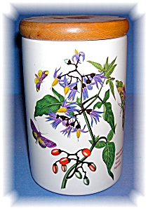 Portmeirion Woody Nightshade Kitchen Canister (Image1)