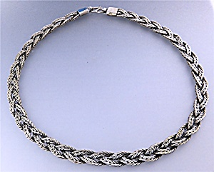 Necklace Woven Sterling Silver Indonesia (Image1)
