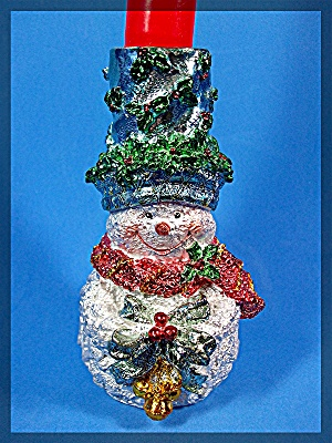 Christmas Snowman Candle Holder (Image1)