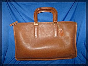Briefcase COACH Leather British Tan Bonnie Cashin (Image1)