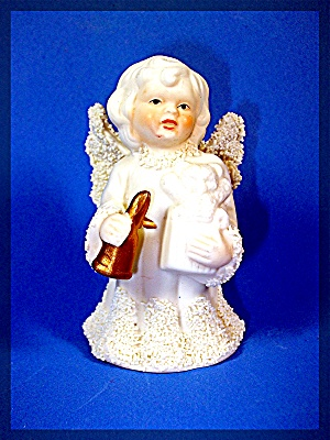 angel bell - porcelain - snowbaby style (Image1)