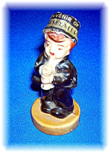 Bisque Figure Souvenier Kearney Nebraska JAPAN (Image1)
