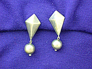William SpratlingTaxco Mexico Sterling Silver Earrings (Image1)