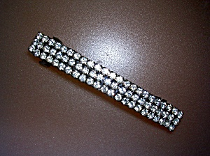 Rhinestone Hair Barrette 69 Claw Set Crystals