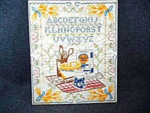 Vintage Country Kitchen Cross Stitch Kit Gold Medal Flo (Image1)