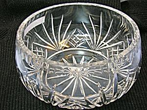 CrystalCut Glass  Bowl heavy deep cut . . . (Image1)