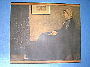 My Mother By Whistler (1834-1903) De Luxe Reproduction