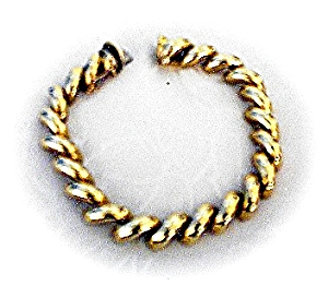 14K Yellow  Gold San Marco 24 grams Bracelet   (Image1)