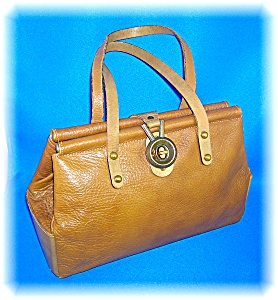 Vintage Hand Made Leather Hand  Bag By Zenith (Image1)