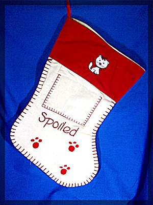Christmas stocking for you pet Kitty Cat............... (Image1)
