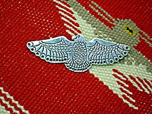 Native American Sterling Silver Thunderbird  JLG (Image1)