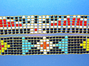 American Indian Beaded Hat Band