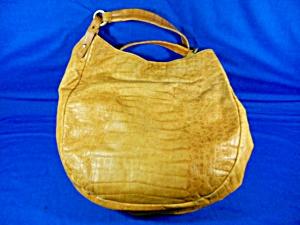 Brahmin Croc Leather Poppy Melbourne Handbag (Image1)