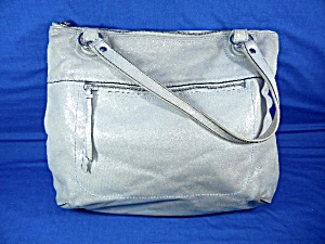 Coach Bag Light Silver Sparkle