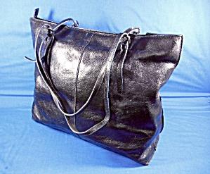 HOBO International Large Adela Black Bowler Bag  (Image1)
