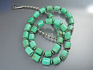 Native American Crysophrase Necklace